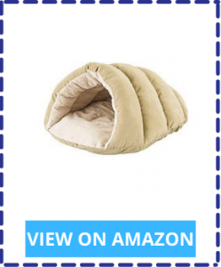 Cave-Shaped Pet Bed for Snuggling